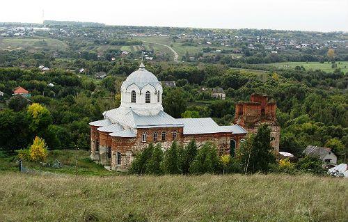 Увидел церковь по ней и узнал свое село