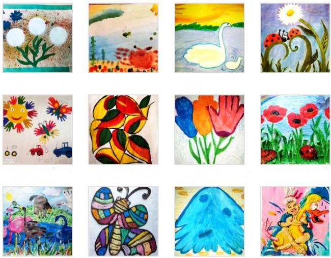 Голосуем в городском конкурсе рисунка «Я рисую лето»